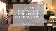 on Organising Your Kitchen Space Smartly Kitchen Renovation Design, Kitchen Design, Organising, Chalkboard Quotes, Kitchen Remodel, Kitchens, Organization, Space, Tips