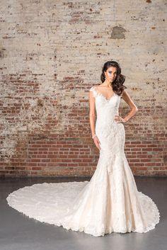 Vestido de Novia de Justin Alexander Signature - 9845      Wedding Dress #bride #wedding #white #mermaid