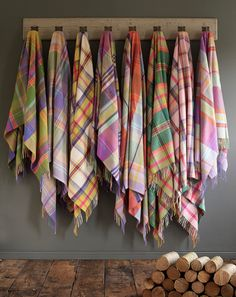 lovely plaid wool blankets