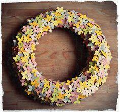 Giocabosco: creare con Gnomi e Fate: Corona di primavera