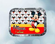 Marmitinhas Personalizadas Mickey