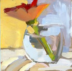 LISA DARIA'S PAINTING A DAY: #972 Flower Belly