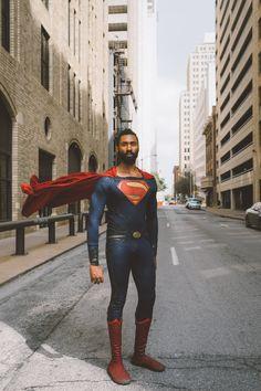 Photo by Joe Johnson Superman Artwork, Superman Movies, Black Superman, Superman Logo, Val Zod, Superman Cosplay, Joe Johnson, Clark Kent, Famous Last Words