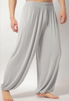 plus size pants men and women Modal bloomers pants home tai chi sweat Pants