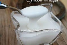 Glassa senza uova per decorare | Glassa all'acqua