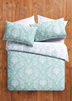 Damask Printed Duvet Set