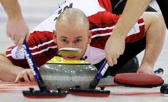 Another amazing slider out of the hack! Amazing Slider, Curling Canada, Newfoundland And Labrador, Curlers, Rocks, Teacher, Game, Sports, People
