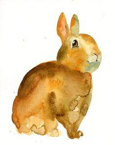 etsy bunny watercolour - Sök på Google