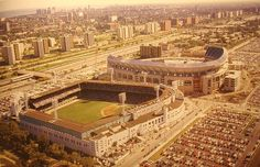 Comiskey Park Old & New Chicago by Photoscream, via Flickr