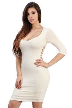 Ivory Dress. Ivory DressesBodycon ... 8edba4047