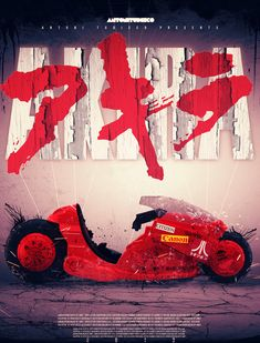 AKIRA MOVIE POSTER 2013 CONCEPT by Antoni Tudisco