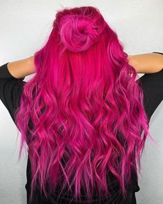 Hair color fashion, pink hair color trends 2019 hairstyle trends hairstyle world 2019 - . - Hair color fashion, pink hair color trends 2019 hairstyle trends hairstyle world 2019 - Red Pink Hair, Bright Pink Hair, Bold Hair Color, Cute Hair Colors, Pretty Hair Color, Hair Color For Women, Hair Dye Colors, Bright Colored Hair, Dyed Hair Pink