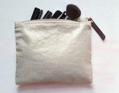 Ready To Ship S P U N GOLD FOIL Clutch Small by GiftShopBrooklyn, $52.00