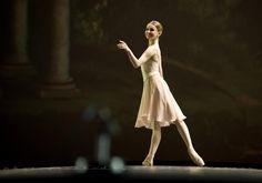 Evgenia Obraztsova  G. Balanchine, Classic pas de deux, Dance Open 2012  photo by Nikolay Krusser