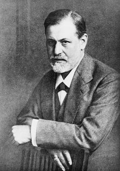 Sigmund Freud (1856-1939), at age 45 in 1909, the year he traveled to the United States to lecture. The following year he published THE ORIGIN AND DEVELOPMENT OF PHYCHOANALYSIS, a popular book that explained his theories to a board audience.