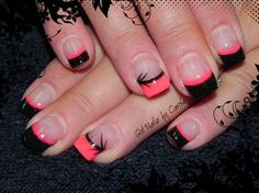 Twisted french again by winternikki - Nail Art Gallery nailartgallery.nailsmag.com by Nails Magazine www.nailsmag.com #nailart