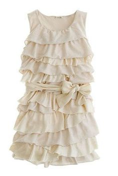 JCREW Tiered Ruffle Party Dress... although i probably would never actually wear it