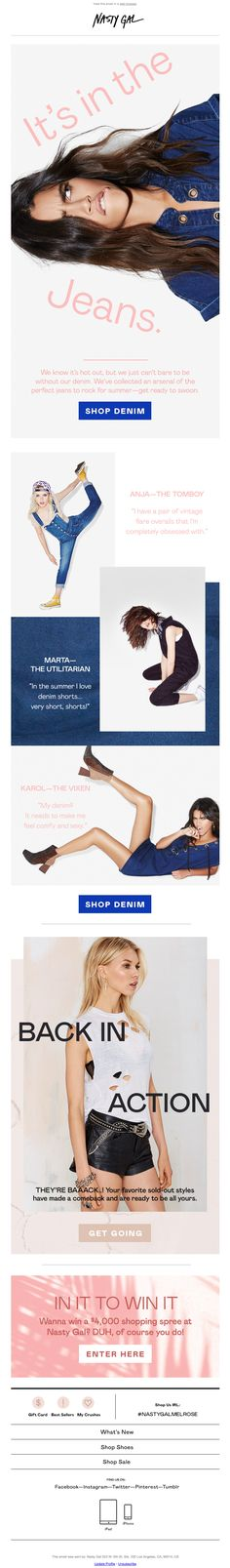 Nasty Gal Email