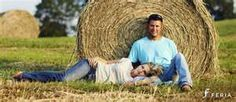 I definitely like the hay, who knows about the pose.. but that seems more like Kate and Tyler?