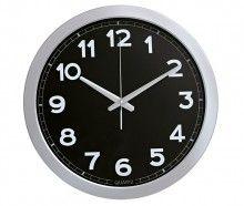 Relógio de Parede Preto - Hercules Deko