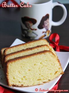 Basic butter cake recipe – how to make a simple butter cake (light ...