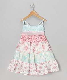 Take a look at this Pink Betsy Dress - Infant, Toddler & Girls by Moxie & Mabel on #zulily today!