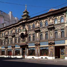 Tea House on Perlova, 19 Myasnitskaya in Moscow (Russia)