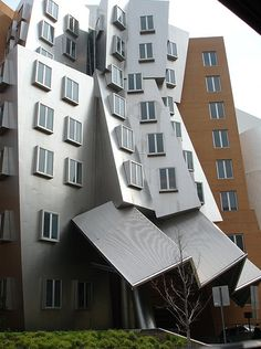 Ray and Maria Stata Center at MIT in Cambridge, MA, by Frank Gehry