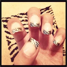Just did my nails again. Raw!