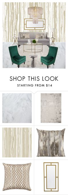 """Brisa Andrade"" by stephanyhdez on Polyvore featuring interior, interiors, interior design, home, home decor, interior decorating, Cole & Son and Mitchell Gold + Bob Williams"