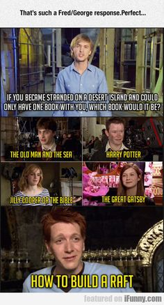 That's Such A Fred/george Response...