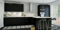 Skapa ditt eget kök med hjälp av vår kökskonfigurator, prova dig fram och byt handtag och luckor