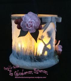 Fairy Jar by Cobweborium Emporium 3 Fairy Lights In A Jar, Fairy Jars, Jar Lights, Mason Jar Crafts, Mason Jar Diy, Fairy Crafts, Diy And Crafts, Bottles And Jars, Glass Jars
