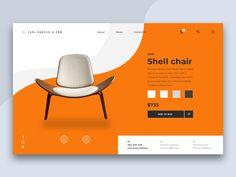 Carl Hansen & Son designed by Ola Frick. Connect with them on Dribbble; Media Design, Ad Design, Layout Design, Logo Design, Web Design Trends, Website Layout, Web Layout, Website Ideas, Website Design Inspiration