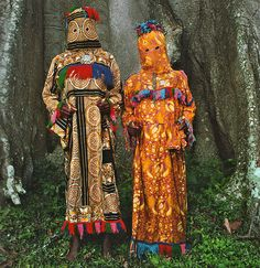 Stunning Images of African Masquerades
