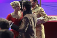 Behind The Scenes #ouat #captainswan