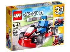 LEGO Creator_31030_Red Go-Kart 3 in 1_106 pcs/pzs_Brand New Sealed Set #LEGO #Korea #Creator #Redgokart #3in1 #block