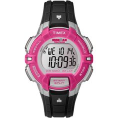 Timex Originals T5K811 Performance Ladies Ironman Rugged 30 Lap Chronograph…