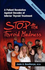 Order the most important thyroid books you'll ever own! Patient-to-patient information! http://www.laughinggrapepublishing.com