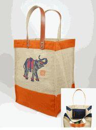 LOVE this tote! $175.00 jute bag goody www.iomoi.com