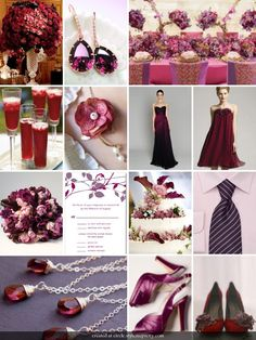 Plum and Cranberry