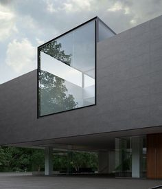 Modern design with midwestern ease. Contemporary architecture and modern interior design for your Michigan residential and commercial projects. Villa Architecture, Concrete Architecture, Minimalist Architecture, Amazing Architecture, Contemporary Architecture, Architecture Details, Windows Architecture, Black Architecture, Facade Design