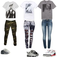 """""""Tupac & Micheal Jordan"""" by kierarashae on Polyvore cheap jordan 5 Womens only $50, save up to 58% off for all #Nikes #Shoes"""