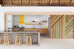 8 Super Colorful Design Kitchens