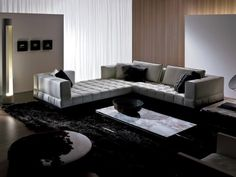 perfect sofas for socializing curved and double sided contemporary sofas by i4 mariani for the. Black Bedroom Furniture Sets. Home Design Ideas