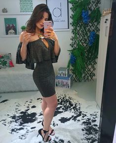 Trendy Dresses, Trendy Outfits, Short Dresses, Dress Outfits, Girl Outfits, Fashion Dresses, Birthday Outfit For Women, Night Out Outfit, Bodycon Dress Parties