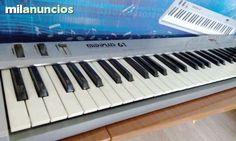 TECLADO CONTROLADOR MIDI +patas 80$ Madrid