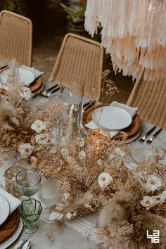 Jungle Wedding Dinner at Acre, Baja - Boho Wedding Wedding Dinner, Boho Wedding, Wedding Table, Wedding Flowers, Wedding Day, Rustic Wedding, Wedding Flower Arrangements, Reception Table, Wedding Tips