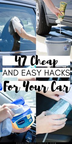 Gothic Home Decor Whether youre trying to make your daily commute better or getting ready for a road trip, these car hacks will instantly improve your driving experience. Car Cleaning Hacks, Car Hacks, Deep Cleaning, Cleaning Solutions, Do It Yourself Home, Improve Yourself, Car Checklist, Cleaning Checklist, Country House Interior