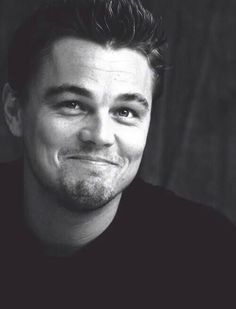 Leonardo DiCaprio. ok he looks SO ADORABLE HERE